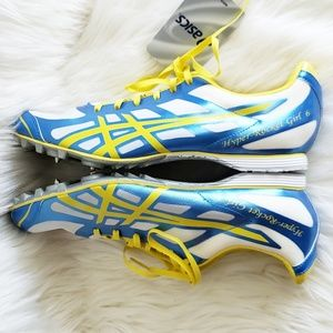 Asics Track Cleats Hyper Rocket Girl Size 9 NWT